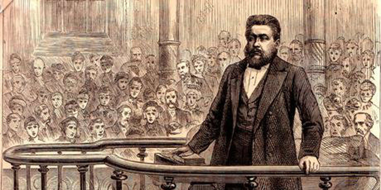 Spurgeon over het beest en Rome